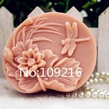 Продукт! 1 шт. цветы гардения(zx331) пищевой силикон ручной работы мыло Плесень ремесла DIY Плесень