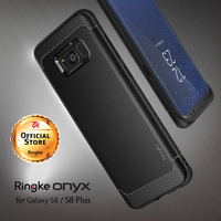 Ringke Onyx Cases For Samsung Galaxy S8 Flexible TPU Defensive Phone Cases For Galaxy S8 Plus