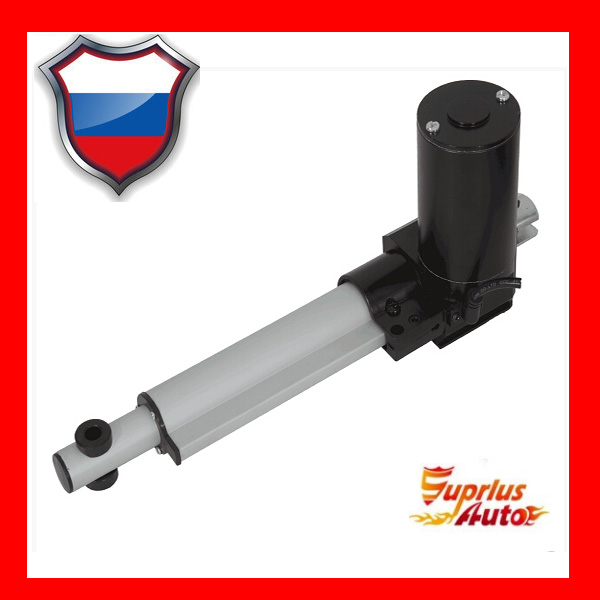 12/24 VDC 8 inch / 200 mm stroke length Electric linear actuator with 1320LBS / 6000N load capacity Linear actuator