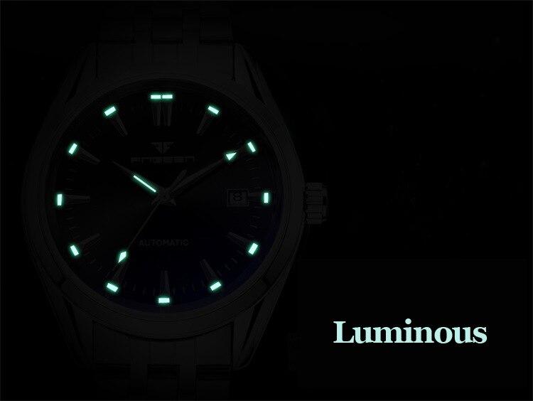 HTB1mVetX3KG3KVjSZFLq6yMvXXaQ 2019 Mens Wrist Watch Top Brand Luxury Watches Male Luminous Calendar Waterproof Stainless Steel Automatic Mechanical Wristwatch