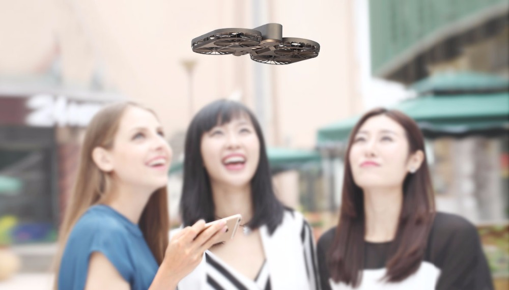 High Quality Self-timer Drone 4 axes remote control Aircraft Aerial Photograph GPS Tracking Positioning Video 007PRO RC plane
