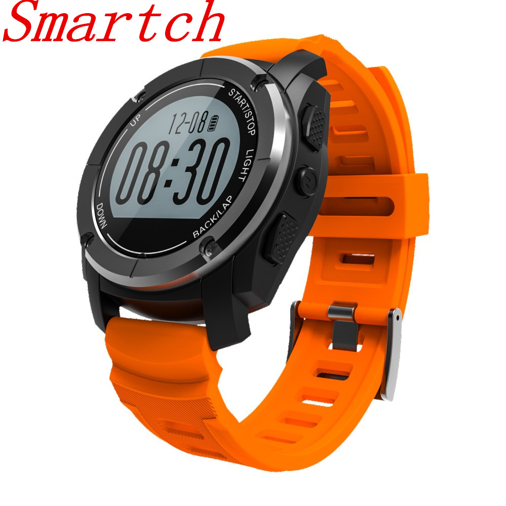 696 S928 Real-time Heart Rate Track Smart Watch Bluetooth 4.0 GPS Sport Smartwatch Pedometer Sedentary Remind Sleep Monitor