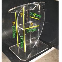 Прозрачные дешевые акриловые лектерн Подиум