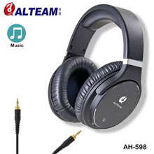Luxurious Present Lengthy Removable Cable Wired Professional Heavy Bass Stereo Audio Audiophile HD HiFi Excessive Constancy Headphones With out Mic
