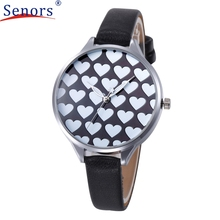 Reloj relogio masculin2017 Style Girls Informal Checkers Fake Leather-based Quartz Analog Wrist Watches relogio feminino 17mar22