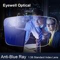 Eyewell Optical 1.56 Anti-Blue Ray Lente Miopia Presbiopia Lentes de Prescrição Óptica Óculos de Proteção Da Lente Para Os Olhos