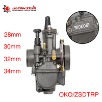 Alconstar PWK OKO 28mm 30mm 32mm 34mm Motorcycle Carburetor Racing Carburetor For Scooter Motorbike ATV UTV