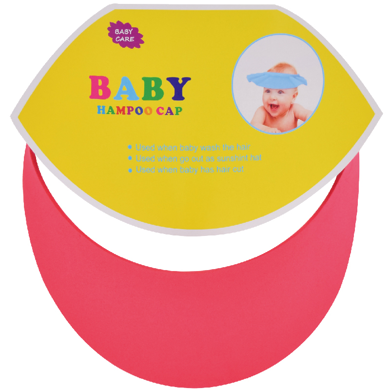 1 Pc EVA Soft Infant Baby Care Bath Protection Baby Safety Shampoo Cap Free Shipping 375*325*3mm