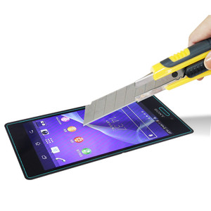 Image 4 - 9H Hardness 2.5D Premium Tempered Glass FilmScreen Protector For Sony Xperia M2 S50h D2302 D2303 D2306 Dual M2 Aqua D2403 D2406