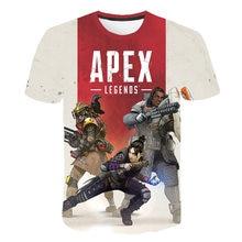 BIAOLUN New 3D T-shirt Apex Legends Hot Game Round neck Men/Women Summer Casual Sweatshirts