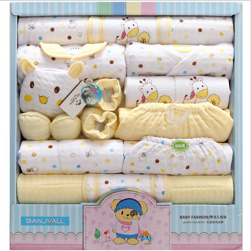 2017-New-Arrival-18-PcsSet-High-Quality-100-Cotton-Newborn-Baby-Clothing-Gift-Sets-Lovely-Cartoon-Printing-Baby-Clothing-Sets-1