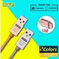 Golf Original 1m USB Type C Charging Cable For Xiaomi mi4c mi5 Samsung Galaxy S7 Letv 1 2 Nexus 5X 6P Meizu Pro 5 6 USB Type-c