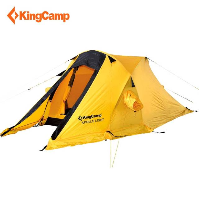 KingC& C&ing Tent Portable Durable Waterproof Windproof 2-Person 4-Season Tent for Trekking  sc 1 st  AliExpress.com & KingCamp Camping Tent Portable Durable Waterproof Windproof 2 ...