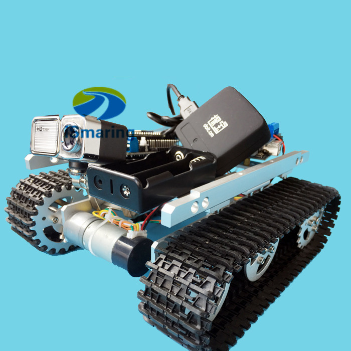 Official Ismaring Video Monitor Robot Smart Tank Car Chassis