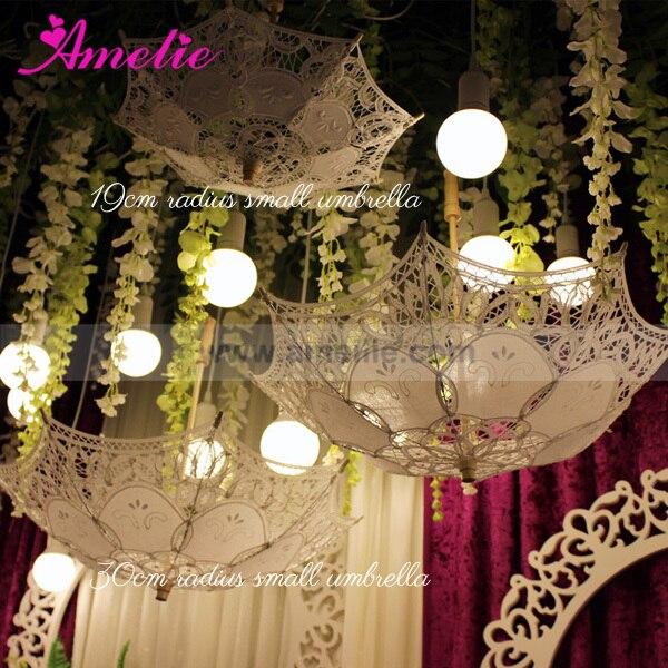 Wedding Favors Party Baby Shower Decorative Lace Umbrella Parasols