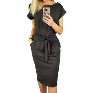 Летнее платье новое женское повседневное винтажное платье сексуальное Бандажное облегающее платье с коротким рукавом платье Сарафан Vestido