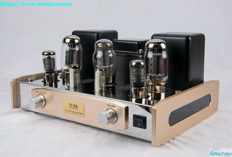 цена на IWISTAO 2x18W HIFI Tube Amplifier Single-ended Vacuum Class A Rectifier 5Z3PAT Preamp&Voltage Amp 6J8PJ Power Stage KT88-98