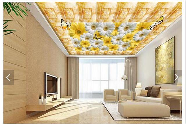 Personalizzato 3d foto carta da parati 3d soffitto murales carta da