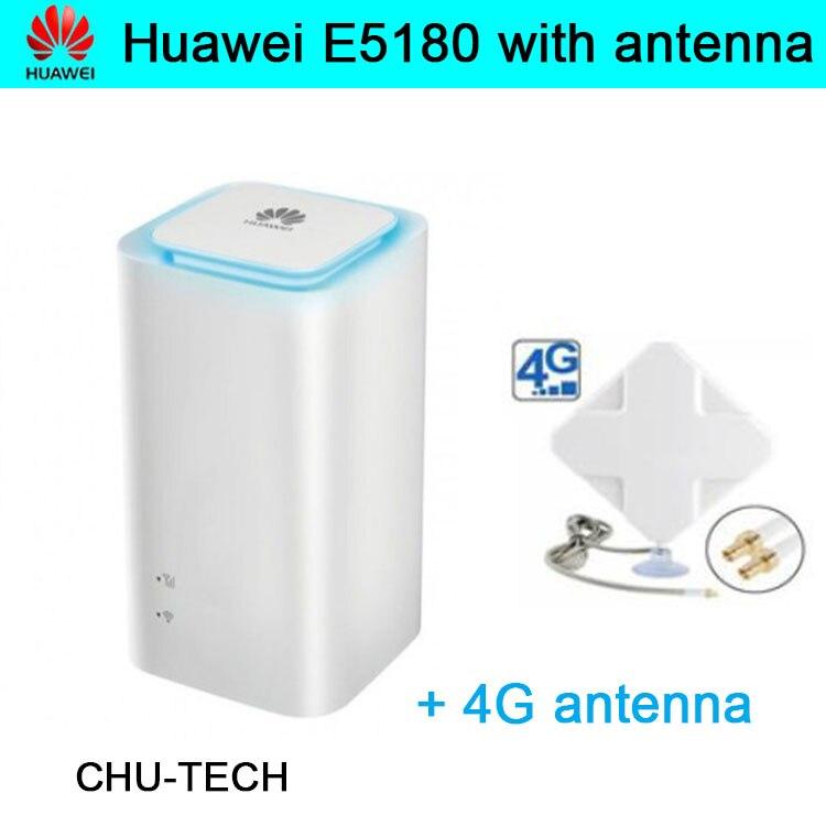 Débloqué d'origine Huawei E5180 E5180as-22 avec antenne 4G LTE Cube WiFi Hotspot routeur maison sans fil routeur