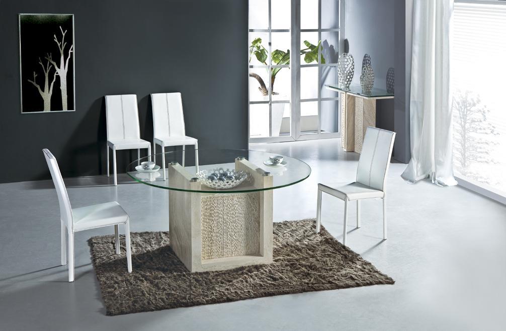 acquista all'ingrosso online lusso mobili sala da pranzo da ... - Tavolo Da Pranzo Set Con Tavola Rotonda