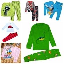 Новинка; стильные пижамы для мальчиков; детская пижама из хлопка для маленьких мальчиков; комплект теплой пижамы для мальчиков; одежда для сна; Pyjams