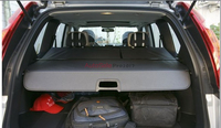 Aluminium alloy + Fabric Rear Trunk Security Shield Cargo Cover For Nissan X Trail XTrail Rogue 2008 2009 2010 2011 2012 2013