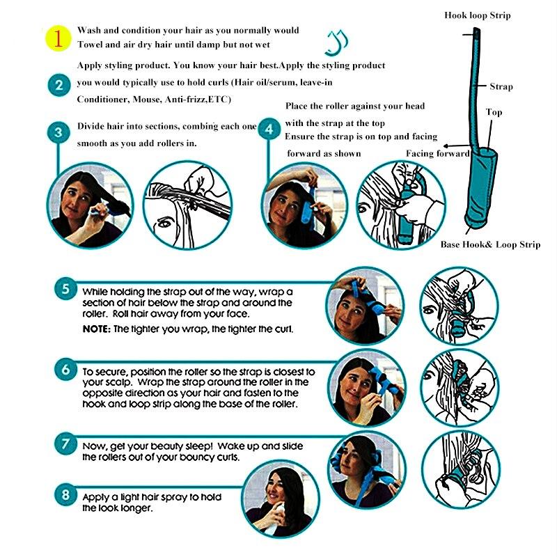 12 τεμάχια / παρτίδα styler ύπνου 2017 - Περιποίηση και στυλ μαλλιών - Φωτογραφία 4