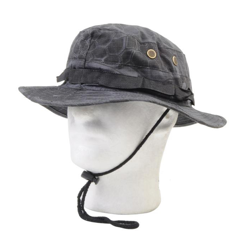 Prix pour Nouveau Kryptek Mandrake Bonnie Chapeau/Chasse Camo Bonnie Chapeau Transport Aérien chapeau Paintball armée Rond à larges bords Soleil Bonnie cap toca airsoft