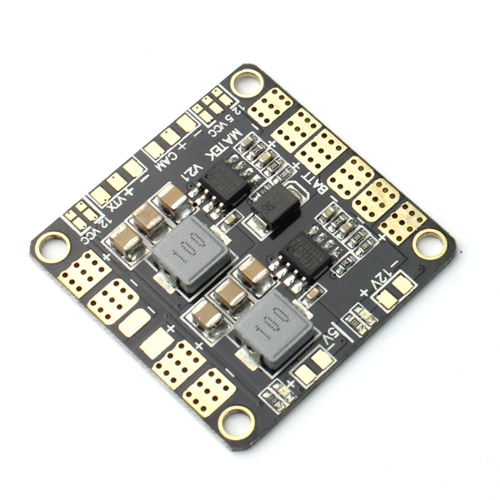 F16892 Mini Power Hub Power Distribution Board PDB with BEC 5V & 12V for FPV QAV250 ZMR250 Multicopter Quadcopter the whole package of cable connector joint 75 5 f head set top box power splitters f extrusion type waterproof metric