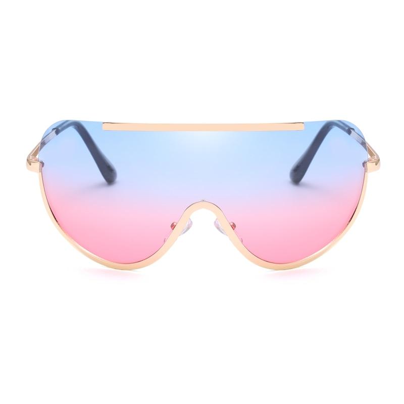 clear Pink Mujer Grandi Pink Occhiali brown Di Lunette green purple 2019 pink Soleil gray Moda Sole Dimensioni Uomini Gafas Da De Yellow Pink Blue Lusso UFdZZw