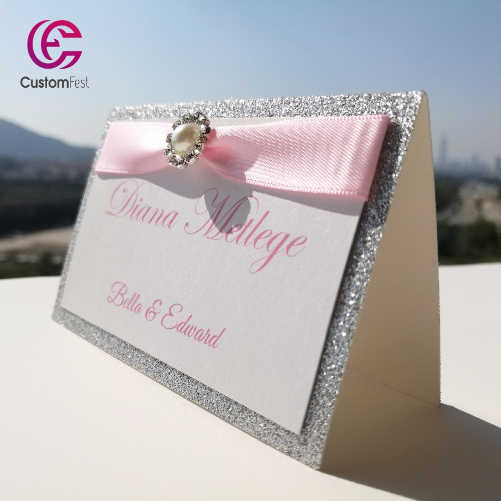 Buy ribbon place cards and get free shipping on AliExpress.com