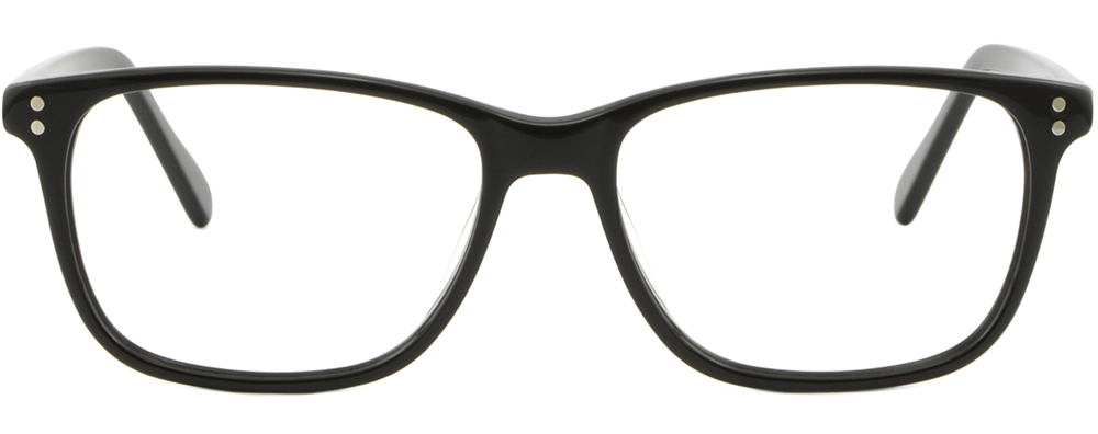 ba646db0fe Men Women Acetate Frame Prescription Glasses Spring Hinges Rectangle ...
