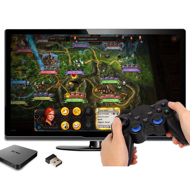 2.4G Gamepad Android Controllers Wireless Gamepad Joystick Android Controller for Tablet PC Smart TV Box for Samsung Xiaomi