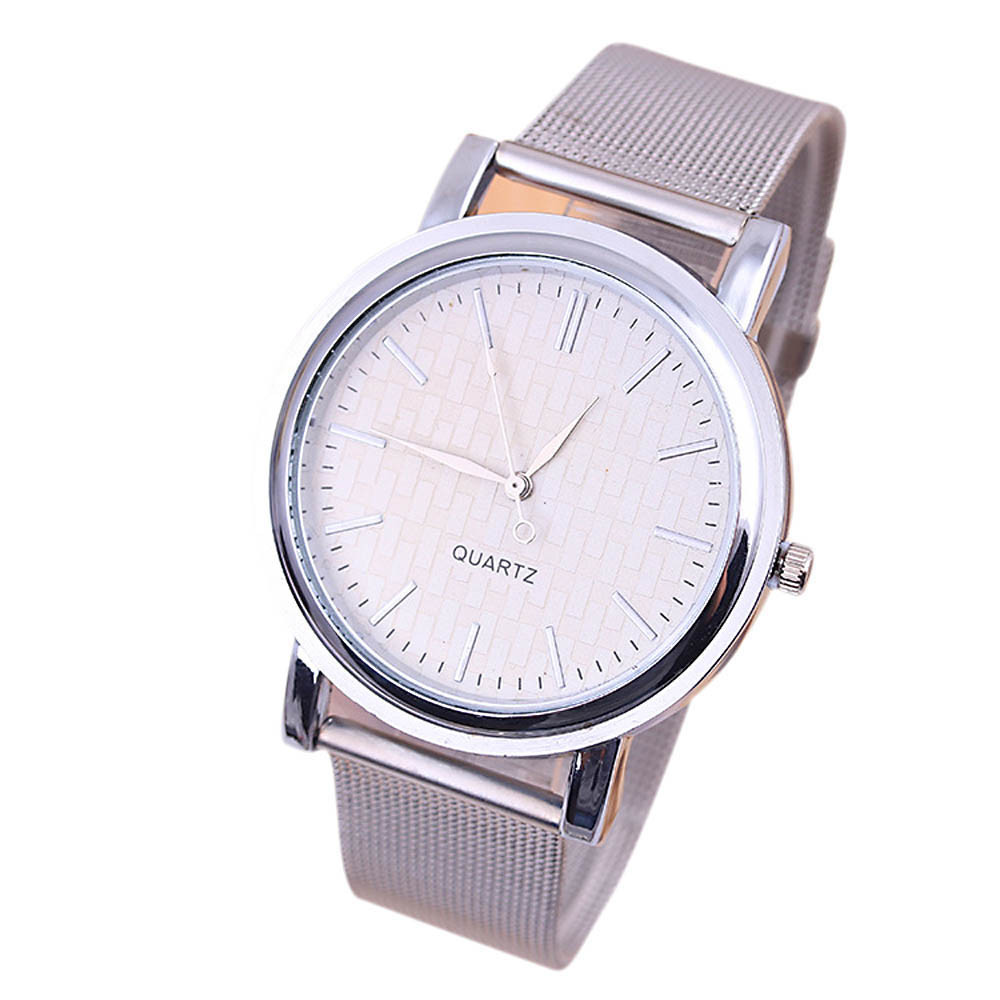 New Classic Womens Quartz Stainless Steel Wrist Watch Lady Style Brand New High Quality Luxury Free Shipping #210717