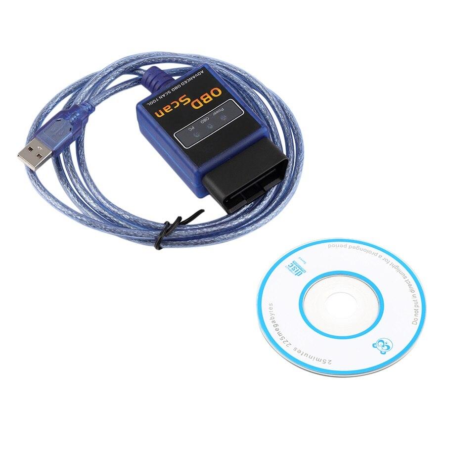 Prix pour New USB Mini ELM327 Auto Scanner Voiture De Diagnostic Scanner interface OBD elm 327 outil d'analyse B07 Brand New