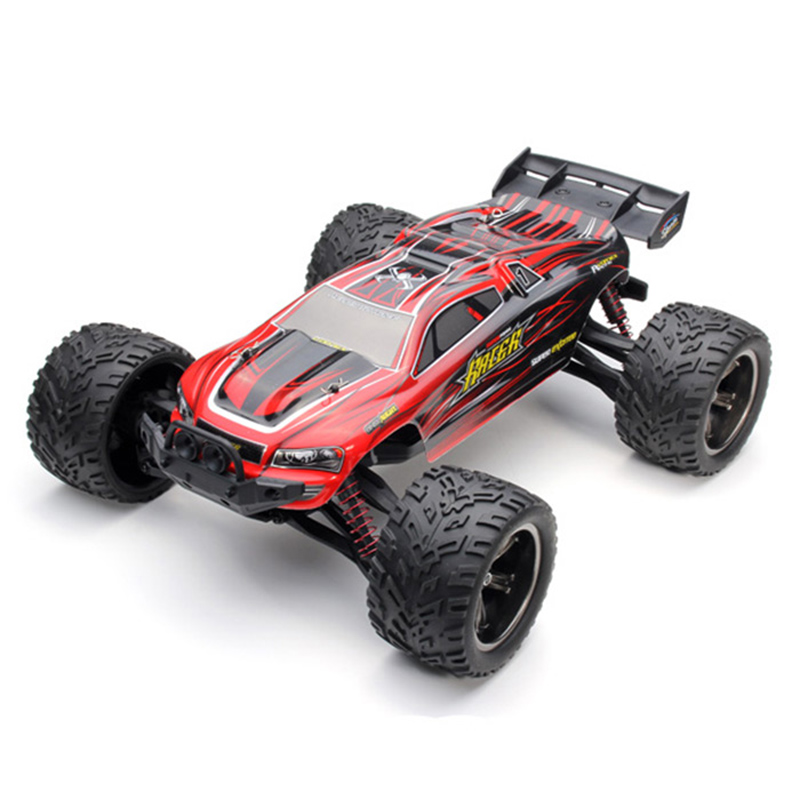 все цены на Hot Sales RC Cars 9116 1 / 12 Scale 2.4G 4CH RC Car Toy with 2 Wheel Driven Electric Racing Truggy High Speed RC Car Kids Gifts онлайн