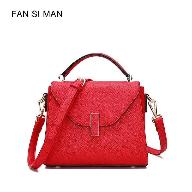 462052c99a Fansiman Brand Women Bags 2019 New Luxury Handbags Female Pu Leather Shoulder  Bag Ladies Hand Bag
