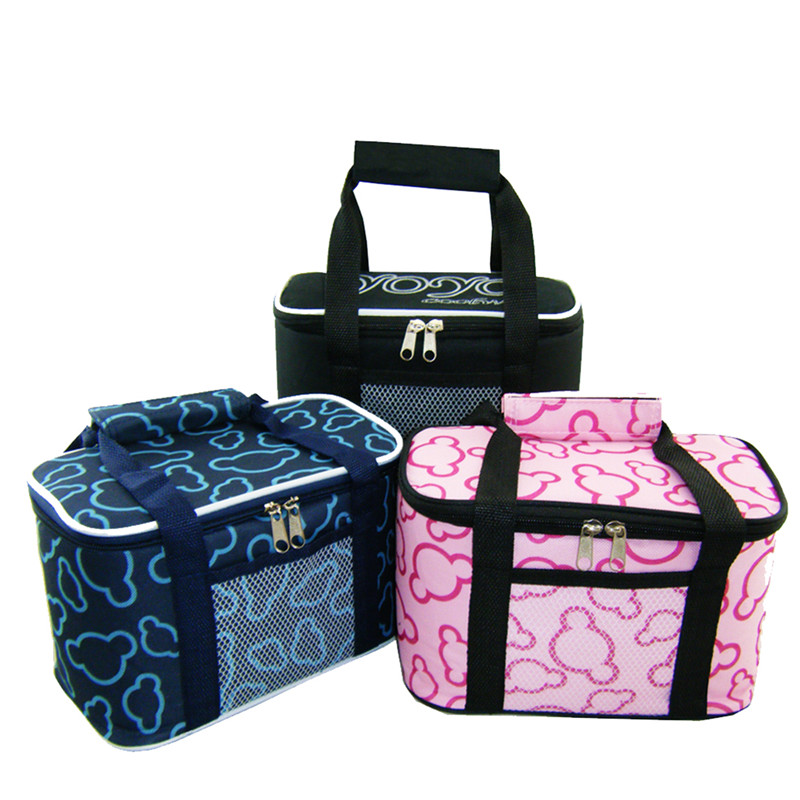 Cooler Bag Thermal Food Insulation Cans Storage Picnic Lunch Shoulder Tote Bag Waterproo ...