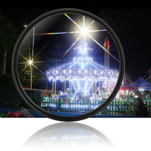 Objetivo de cámara con filtro de estrella, 4/6/8 líneas de Starlight, fotografía nocturna para Canon, Nikon, Sony, Pentax, Panasonic, Olympus, Fujifilm, Tamron