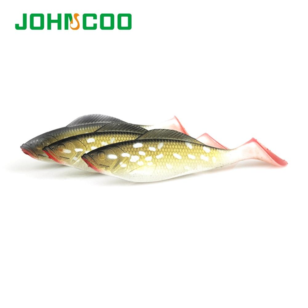 JOHNCOO 8pcs/lot Fishing Soft Lure 8.5cm/6.6g Fishing Lure ...