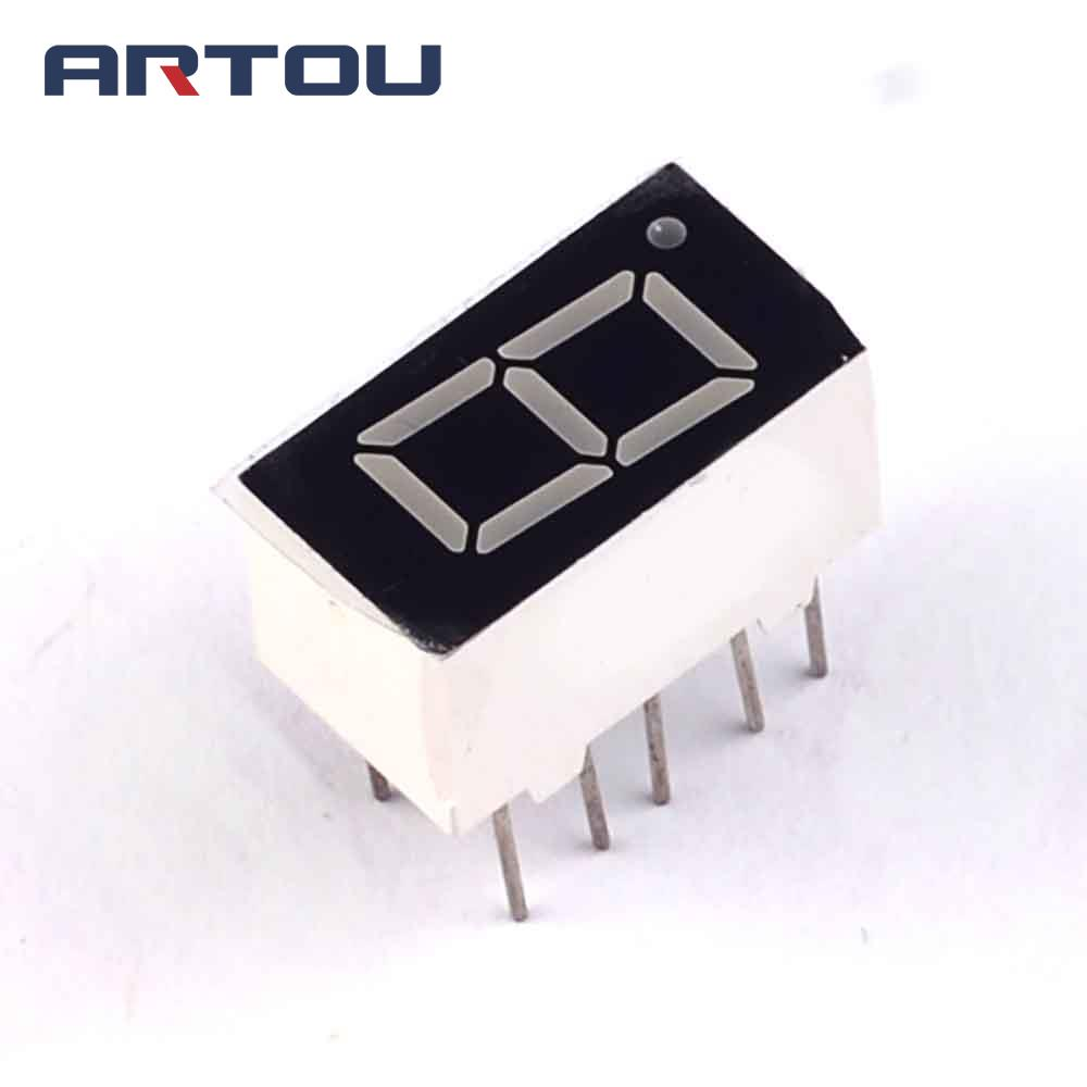 10PCS Common Anode 1Bit Digital Tube 7 Segment 0.36