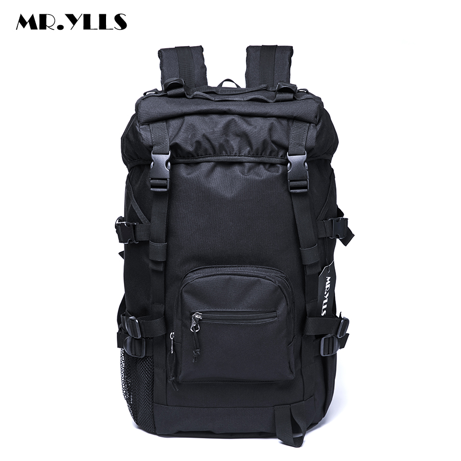 MR.YLLS Men's High Capacity Travel Backpack Waterproof Oxford Bag Backpacks Multifunctional Men 15 17 Inch Laptop Bags Male arctic hunter design 15 6 laptop backpacks men password lock backpack waterproof bag casual business travel backpack male b00208