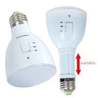 Bulb Flashlight LED Emergency Light Bulb E27 4W 33 LED Rechargeable White Light Magic Lamp Camping