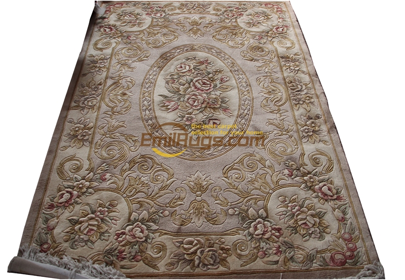 French Savonnerie Style Hand Knotted Wool Rug Antique The Craft Of Making Wool By Hand Geometric Antique DecorFrench Savonnerie Style Hand Knotted Wool Rug Antique The Craft Of Making Wool By Hand Geometric Antique Decor