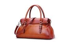 New Arrival Famous Brand Design Women Bag Genuine Leather Ladies Handbags Fashion Elegant Women Messenger Bag Tote