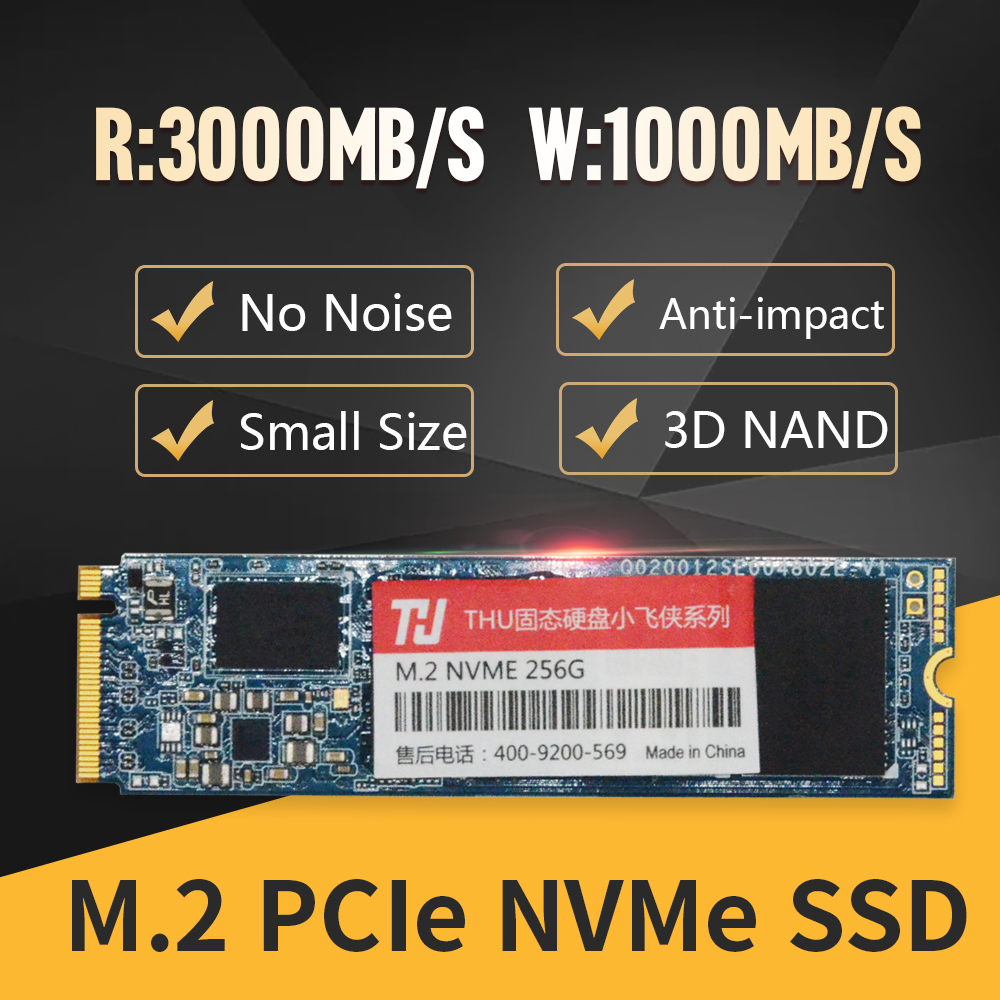 Image 3 - M.2 2280 NVME SSD PCIe 256GB 512GB NVMe SSD NGFF M.2 2280 PCIe NVMe TLC Internal SSD Disk For Laptop Desktop-in Internal Solid State Drives from Computer & Office