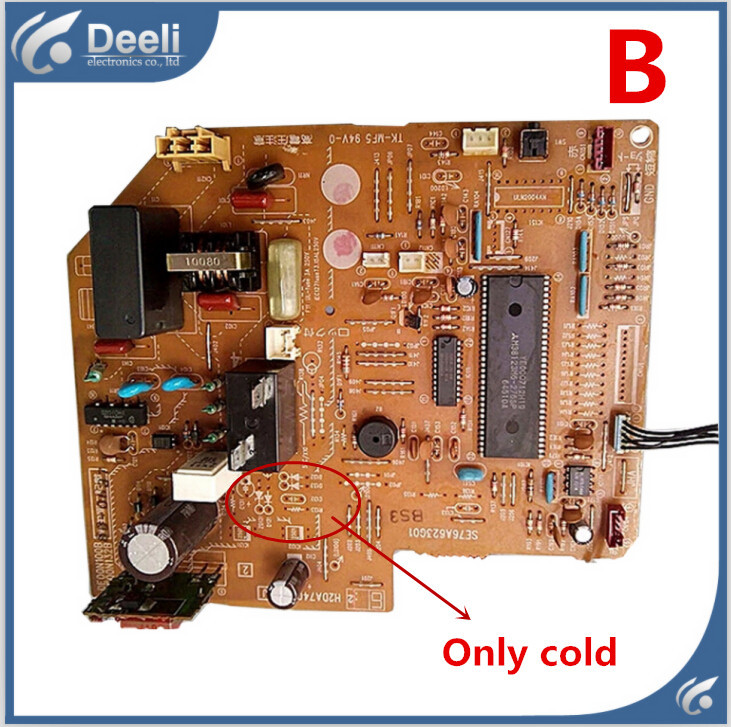 95% new good working for air conditioning Computer board SE76A623G01 only cold pc board control board on sale only a promise