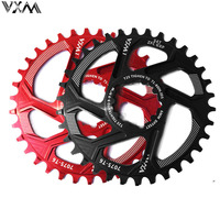 VXM Bicycle Chainwheel 30T 32T 34T 36T 38T Narrow Wide Bicycle Chainring For GXP XX1 X9 XO X01 CNC AL7075 Crankset Bicycle Parts