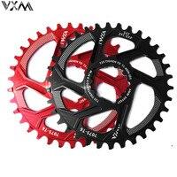 Vxm 自転車チェーンホイール 30 t 32 t 34 t 36 t 38 t ナローワイドボディ自転車チェーンため gxp XX1 x9 xo X01 cnc AL7075 クランクセット自転車部品