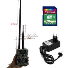 Free Shipping!16GB ScoutGuard SG550-12mHD GPRS/MMS Hunting Trail Camera+Adaptor+39cm Antenna